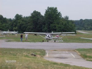 1st flying lesson